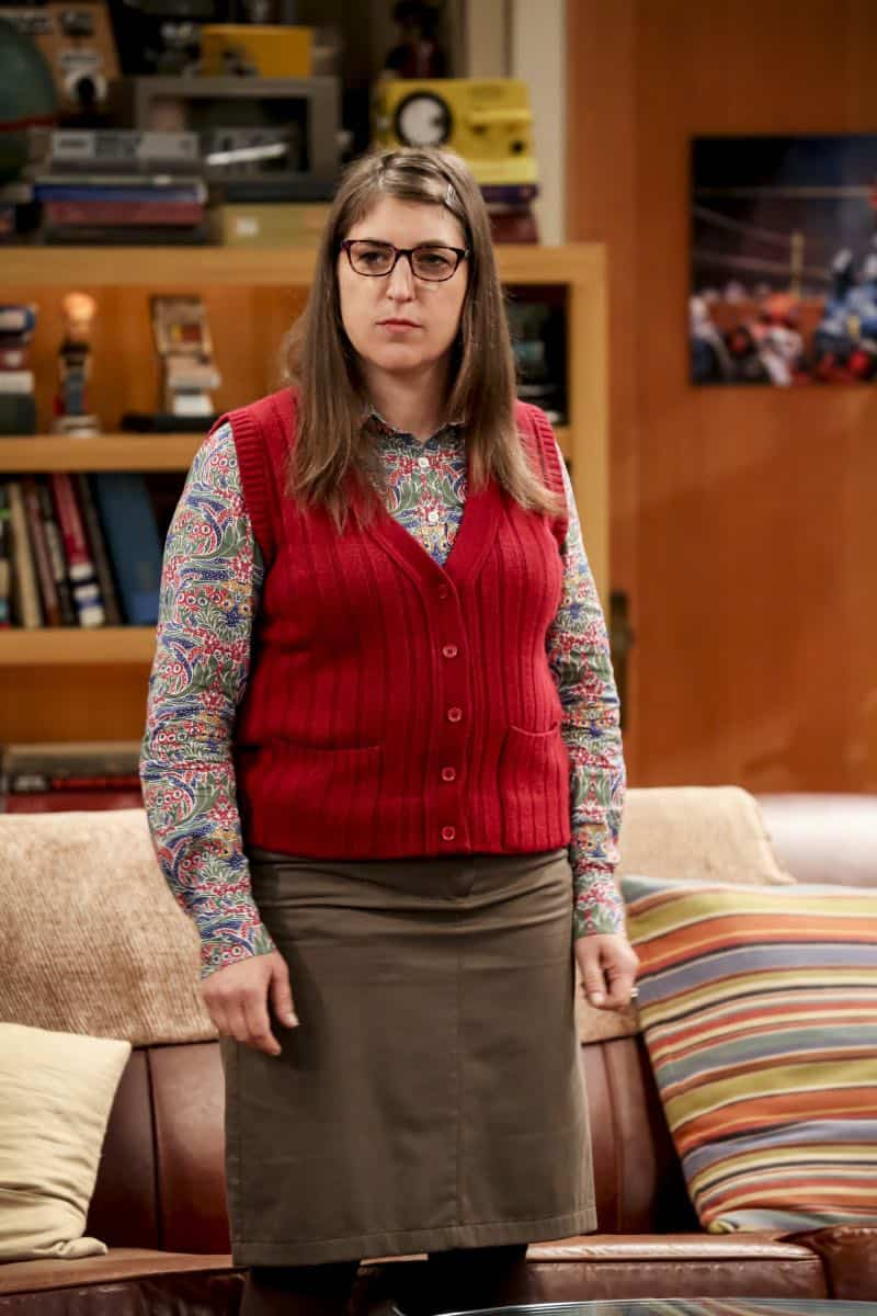 """The Procreation Calculation"" -- Pictured: Amy Farrah Fowler (Mayim Bialik)."