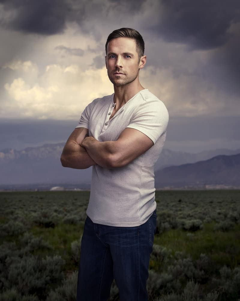 MIDNIGHT, TEXAS -- Season: 2 -- Pictured: Dylan Bruce as Bobo -- (Photo by: Virginia Sherwood/NBC)