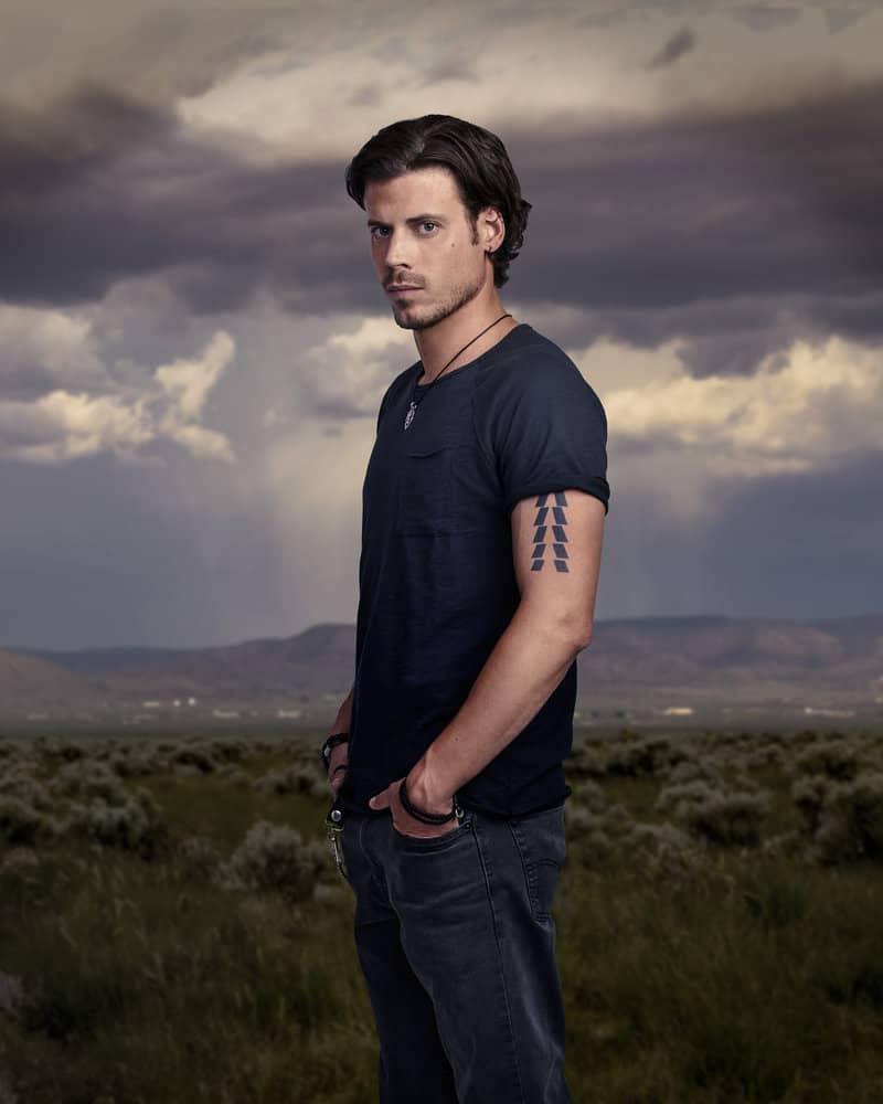 MIDNIGHT, TEXAS -- Season: 2 -- Pictured: François Arnaud as Manfred Bernardo -- (Photo by: Virginia Sherwood/NBC)