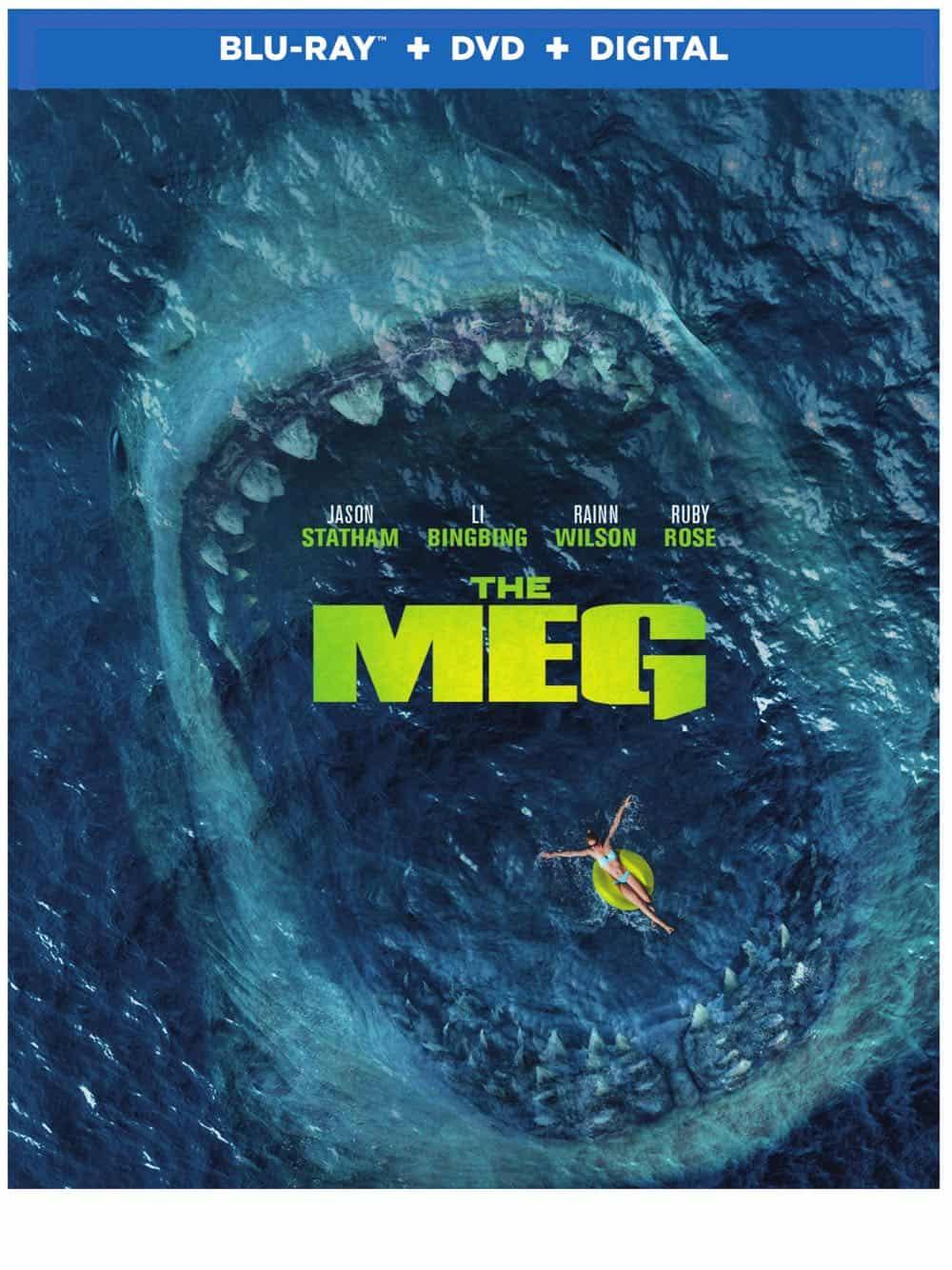 The Meg Bluray DVD Digital 1