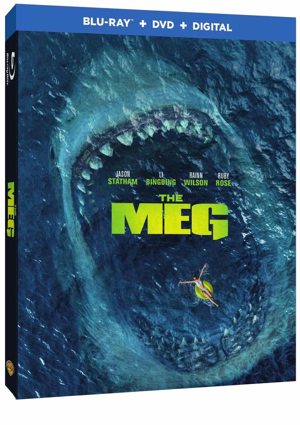 The Meg Bluray DVD Digital 2