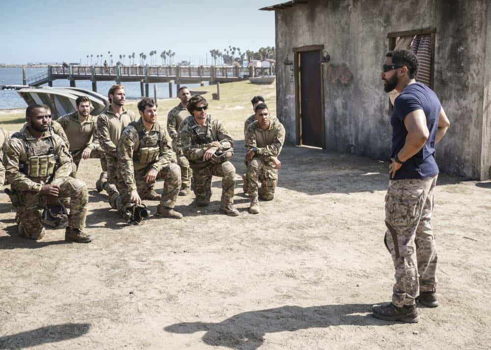 """Fracture"" -- Jason and Bravo Team head to the Gulf of Guinea to rescue American hostages after an oil platform is overtaken by armed militants, on the second season premiere of SEAL TEAM, Wednesday, Oct. 3 (9:00-10:00 PM, ET/PT) on the CBS Television Network. Pictured: Neil Brown Jr. as Ray Perry. Photo: Monty Brinton/CBS ©2018 CBS Broadcasting, Inc. All Rights Reserved"