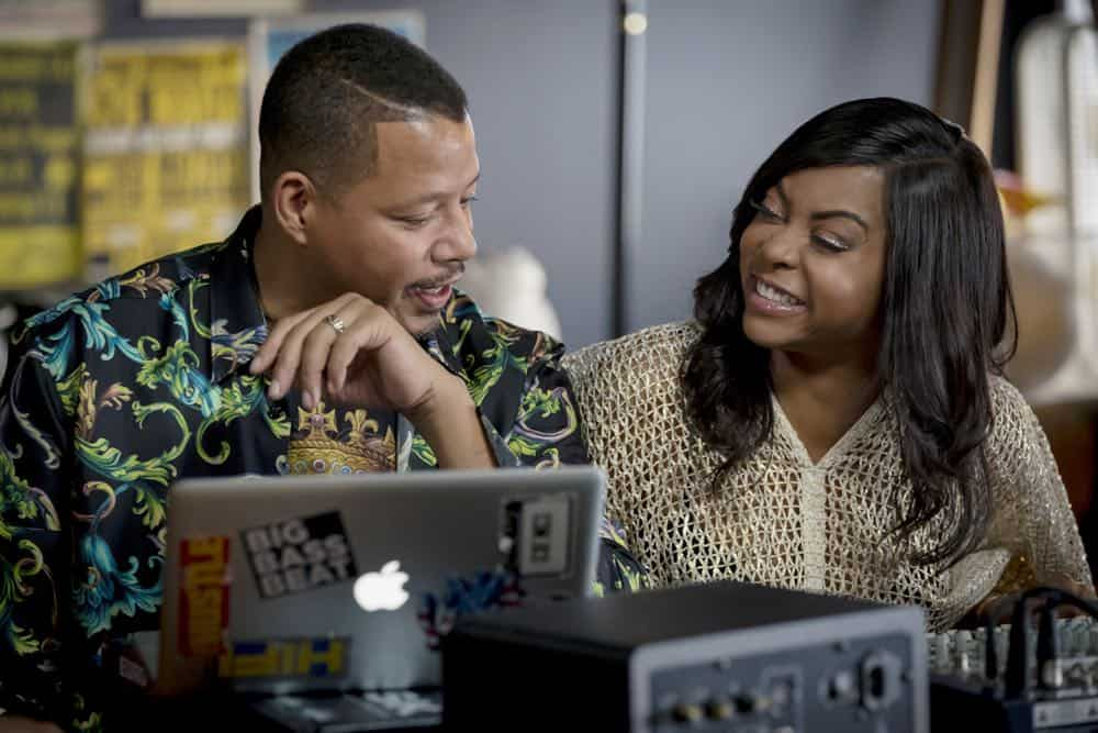 "EMPIRE: L-R: Terrence Howard and Taraji P. Henson in the ""Pay For Their Presumptions"" Season Five episode of EMPIRE airing Wednesday, Oct. 3 (8:00-9:00 PM ET/PT) on FOX. @2018 Fox Broadcasting Co. CR: Chuck Hodes/FOX."