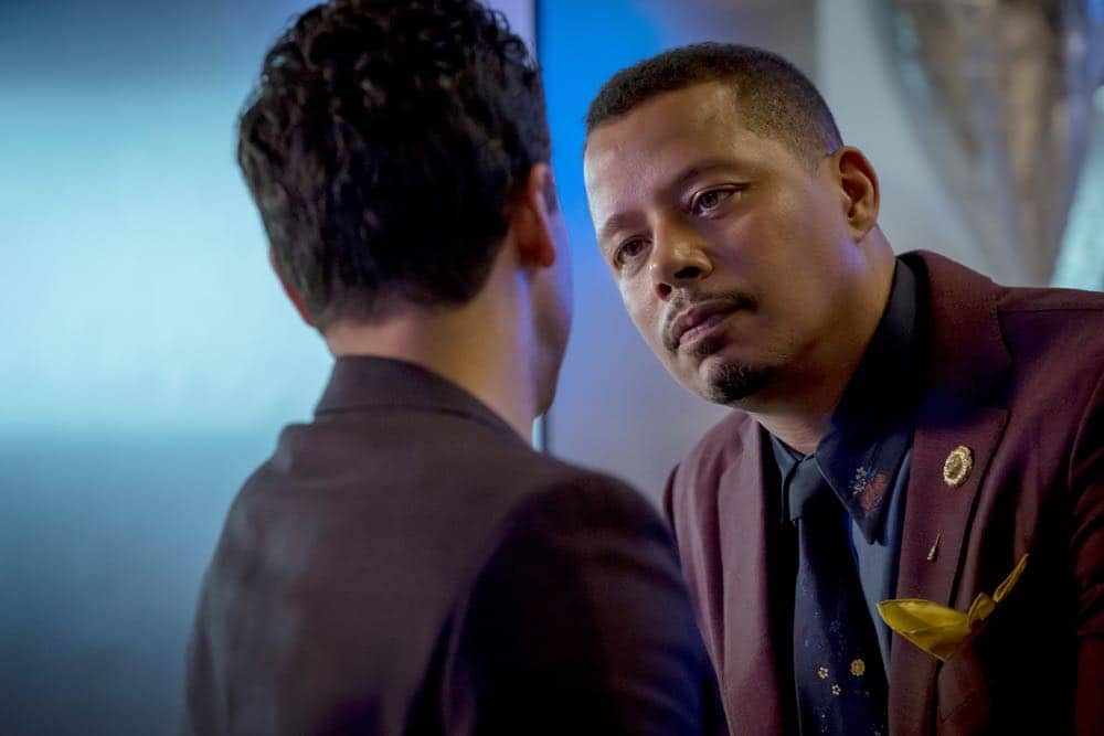 "EMPIRE: Terrence Howard in the ""Pay For Their Presumptions"" Season Five episode of EMPIRE airing Wednesday, Oct. 3 (8:00-9:00 PM ET/PT) on FOX. @2018 Fox Broadcasting Co. CR: Chuck Hodes/FOX."
