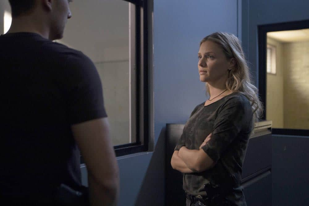 "CHICAGO P.D. -- ""Endings"" Episode 603 -- Pictured: Tracy Spiridakos as Hailey Upton -- (Photo by: Adrian Burrows/NBC)"