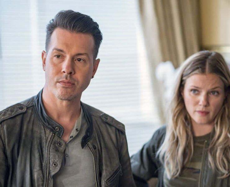 "CHICAGO P.D. -- ""Endings"" Episode 603 -- Pictured: (l-r) Jon Seda as Antonio Dawson, Tracy Spiridakos as Hailey Upton -- (Photo by: Matt Dinerstein/NBC)"