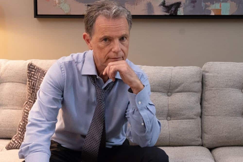 "THE RESIDENT:  Bruce Greenwood in the ""Three Words"" episode of THE RESIDENT airing Monday, Oct. 1 (8:00-9:00 PM ET/PT) on FOX. ©2018 Fox Broadcasting Co. Cr:  Erika Doss/FOX."