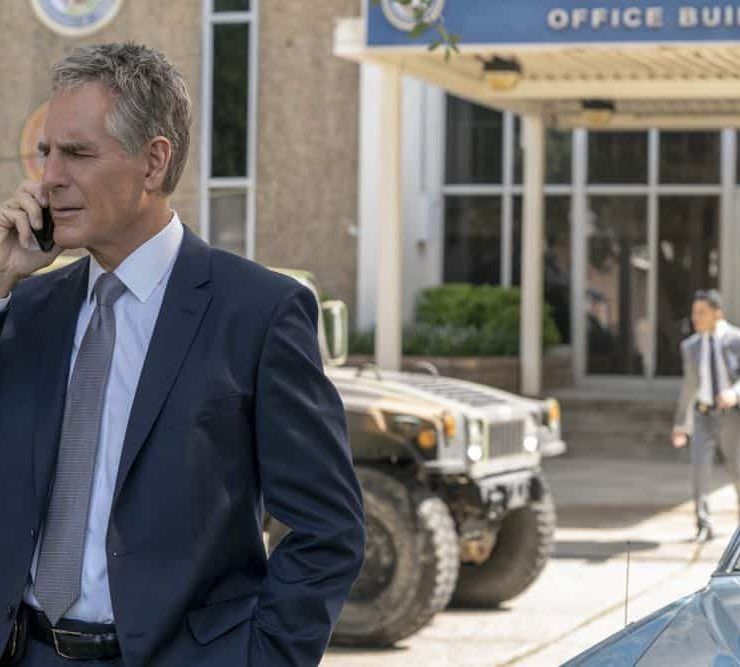 """Diplomatic Immunity"" -- While NCIS investigates the murder of a Navy intelligence officer killed during a conference for foreign diplomats, the key witness cozies up to Sebastian. Also, Pride has some trouble adjusting to his new position at the agency, on NCIS: NEW ORLEANS, Tuesday, Oct. 9 (10:00-11:00 PM, ET/PT) on the CBS Television Network. Pictured: Scott Bakula as Special Agent Dwayne Pride Photo: Skip Bolen/CBS ©2018 CBS Broadcasting, Inc. All Rights Reserved"