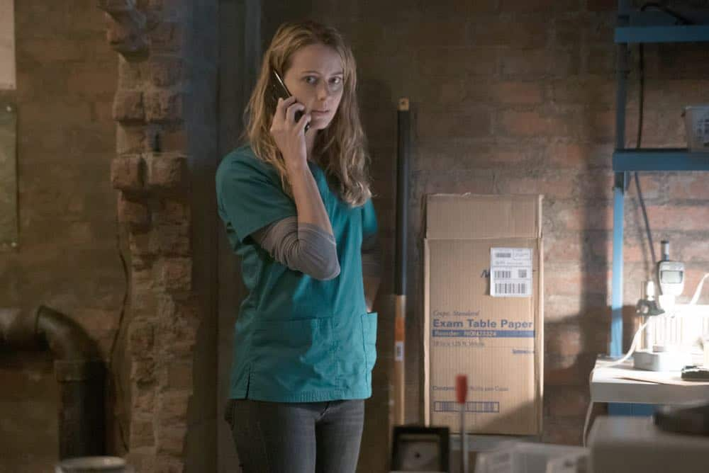"""THE GIFTED: L-R:  Amy Acker in the """"coMplications"""" episode of THE GIFTED airing Tuesday, Oct. 9 (8:00-9:00 PM ET/PT) on FOX. ©2018 Fox Broadcasting Co. Cr: Annette Brown/FOX."""
