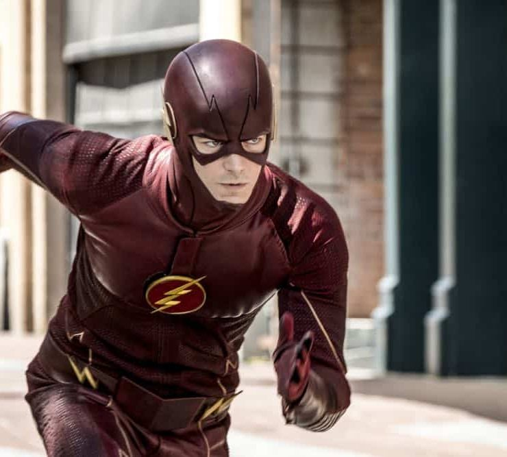"The Flash -- ""Nora"" -- Image Number: FLA501b_0004b.jpg -- Pictured: Grant Gustin as The Flash -- Photo: Katie Yu/The CW -- © 2018 The CW Network, LLC. All rights reserved"