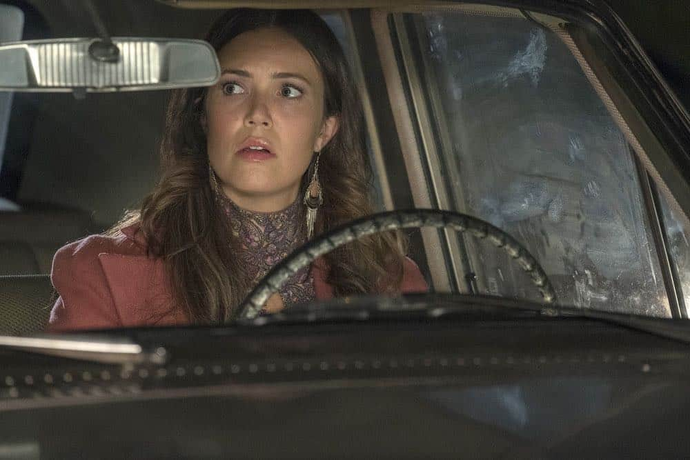 "THIS IS US -- ""Katie Girls"" Episode 303 -- Pictured: Mandy Moore as Rebecca -- (Photo by: Ron Batzdorff/NBC)"