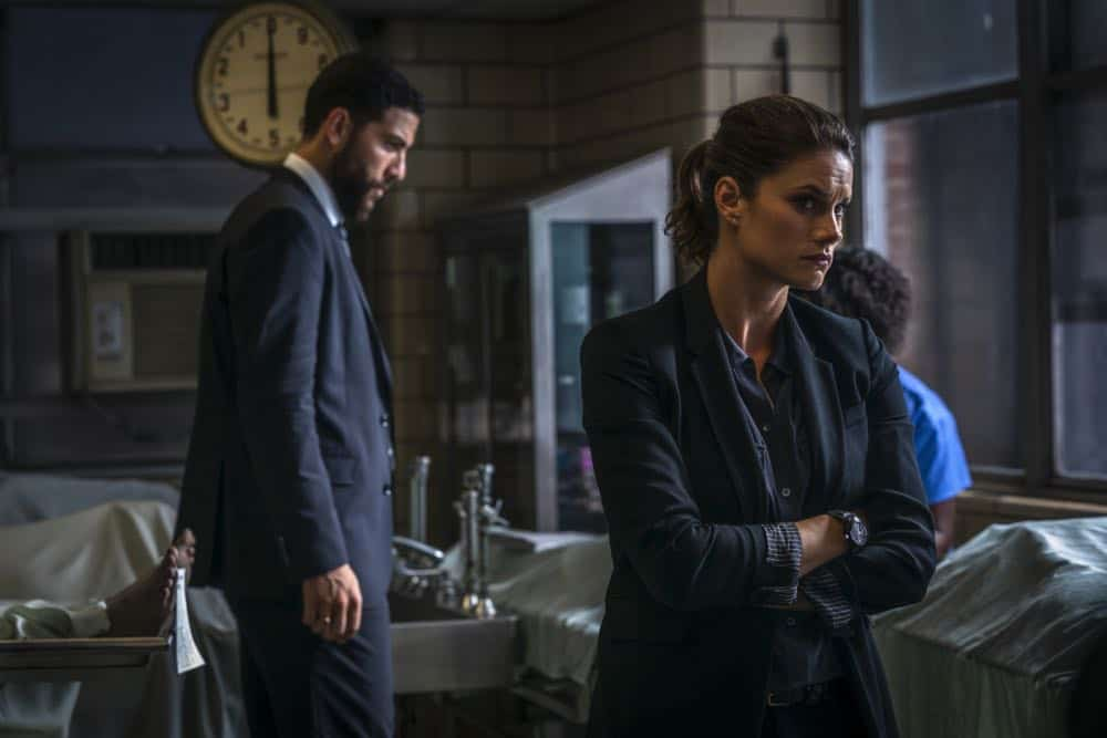 """Prey"" -- Special Agent Maggie Bell, Special Agent OA Zidan and the team investigate the murders of 18 young women with help from a survivor associated with the deceased, on FBI, Tuesday, Oct. 9 (9:00-10:00 PM, ET/PT) on the CBS Television Network. Pictured: Missy Peregrym, Zeeko Zaki Photo: Michael Parmelee/CBS ©2018 CBS Broadcasting, Inc. All Rights Reserved"