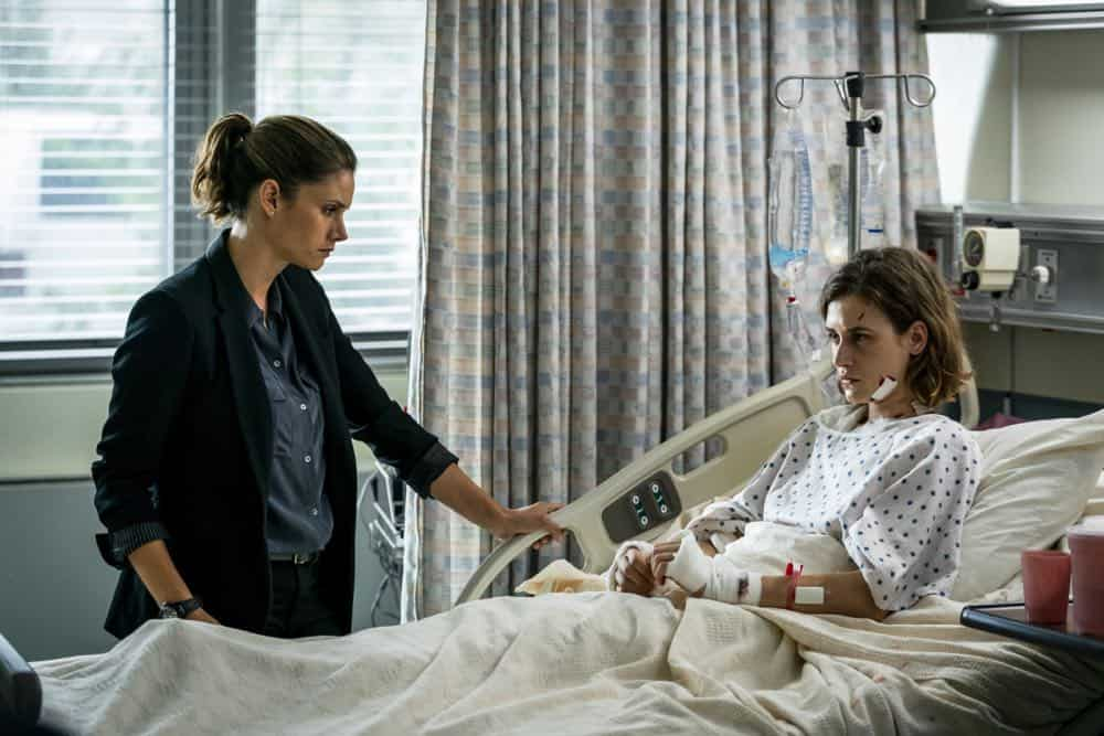 """Prey"" -- Special Agent Maggie Bell, Special Agent OA Zidan and the team investigate the murders of 18 young women with help from a survivor associated with the deceased, on FBI, Tuesday, Oct. 9 (9:00-10:00 PM, ET/PT) on the CBS Television Network. Pictured: Ili Ray, Missy Peregrym Photo: Michael Parmelee/CBS ©2018 CBS Broadcasting, Inc. All Rights Reserved"
