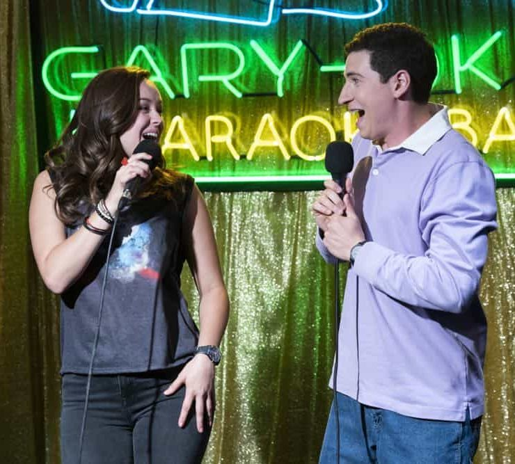 "THE GOLDBERGS - ""RAD!"" - Erica thinks all of her singing dreams are going to come true when she lands a job at the new karaoke bar in town. But when she's tasked with bringing in more customers, will Erica regret turning to Beverly for help? Meanwhile, Murray tries to teach Barry and Lainey how to be financially responsible adults, on ""The Goldbergs,"" WEDNESDAY, OCT. 10 (8:00-8:30 p.m. EDT), on The ABC Television Network. (ABC/Ron Tom) HAYLEY ORRANTIA, SAM LERNER"