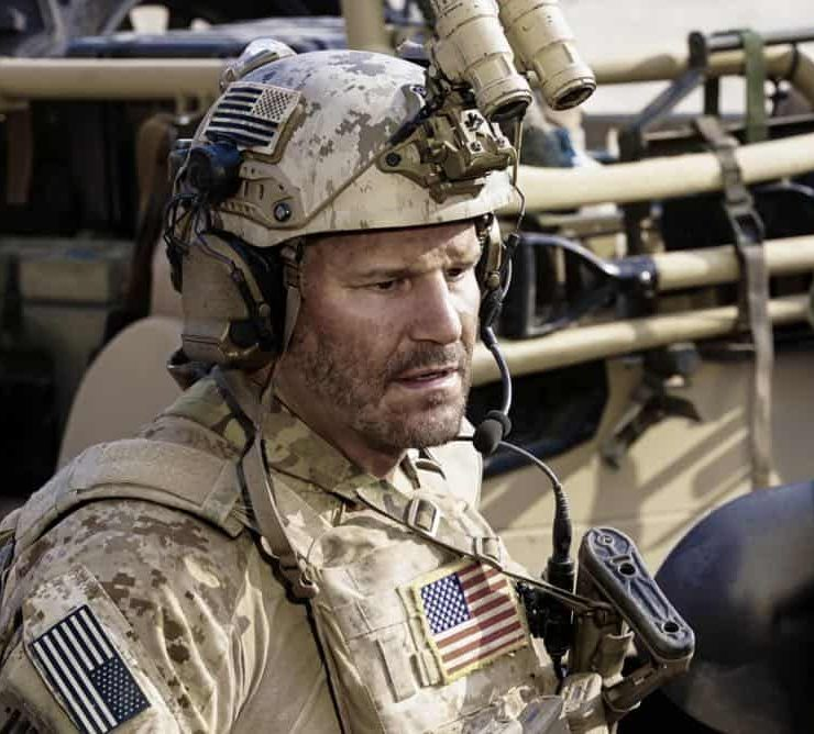 """Never Say Die"" -- Jason and Bravo Team travel to Saudi Arabia, where extremists take hold of an underground water source and threaten to release anthrax into the water supply. Also, Ray contemplates joining another team, on SEAL TEAM, Wednesday, Oct. 10 (9:00-10:00 PM, ET/PT) on the CBS Television Network. Pictured: David Boreanaz as Jason Hayes. Photo: Monty Brinton/CBS©2018 CBS Broadcasting, Inc. All Rights Reserved"