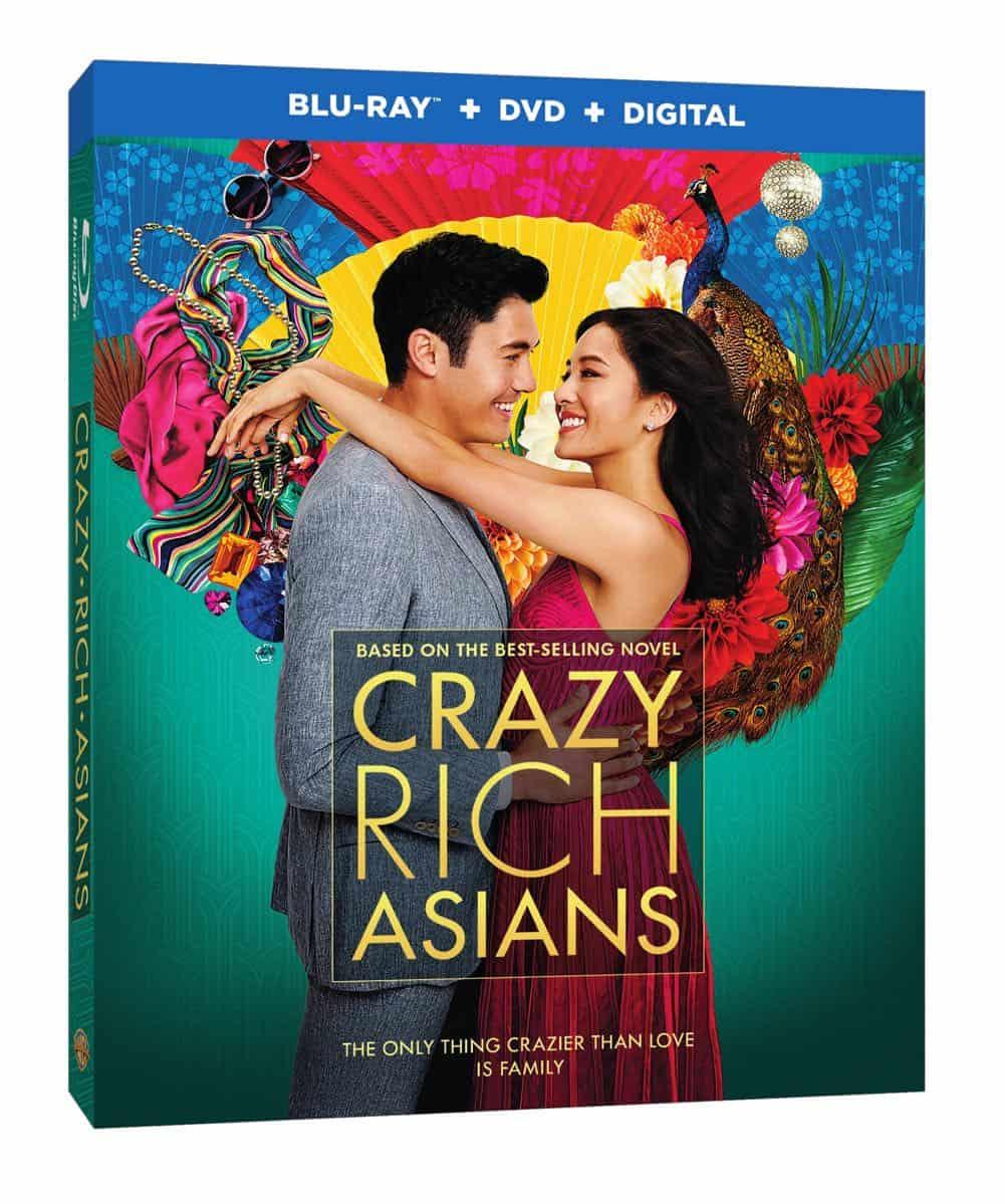 Crazy Rich Asians Bluray DVD Digital 1