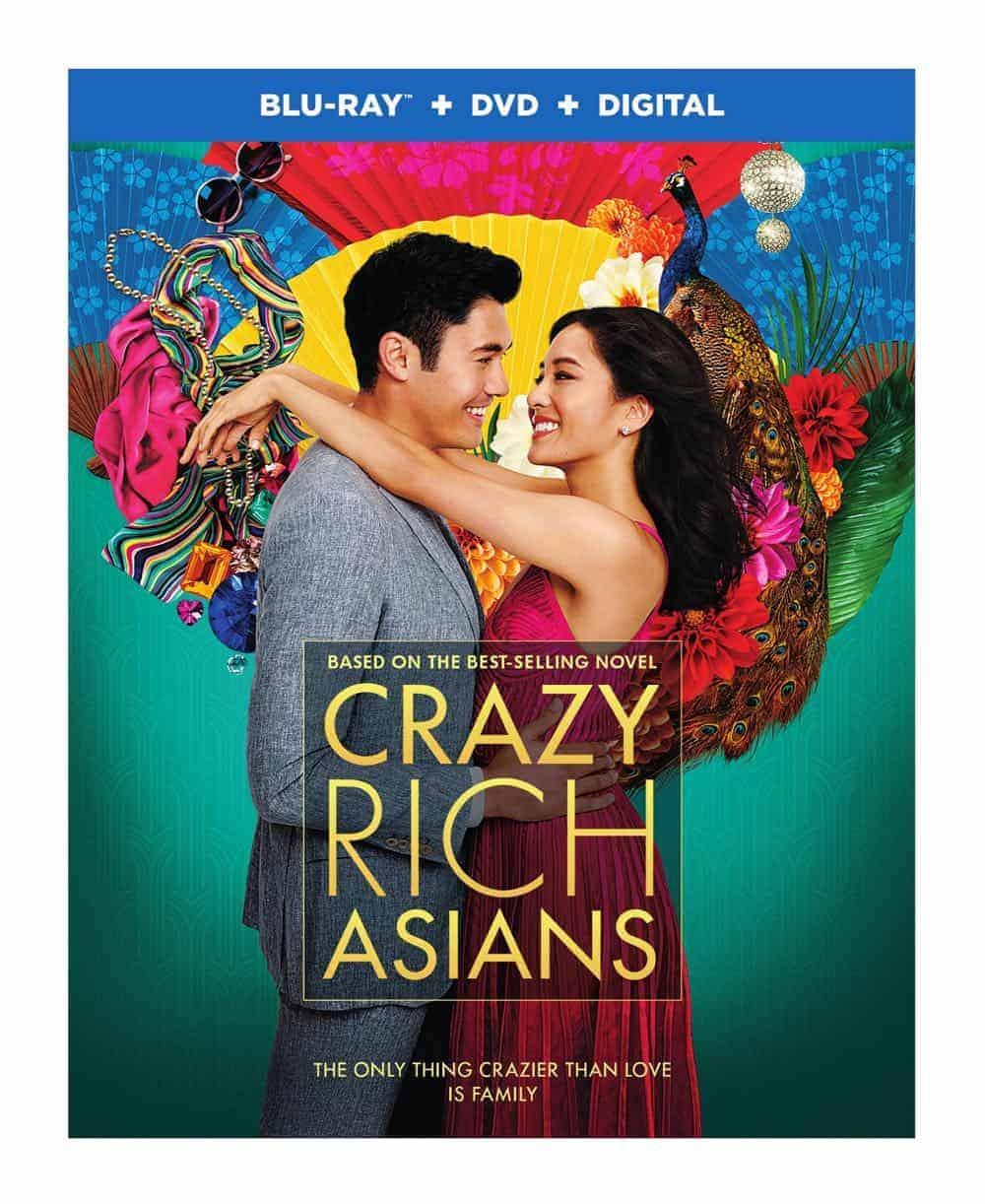 Crazy Rich Asians Bluray DVD Digital 2