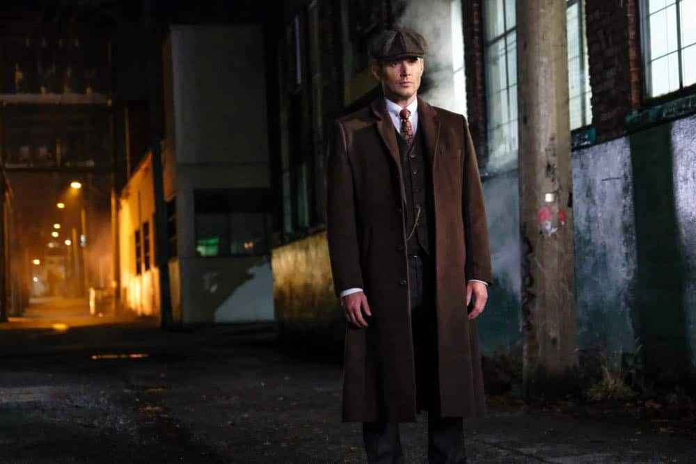 """Supernatural -- """"Stranger in a Strange Land"""" -- Image Number: SN1401a_0165b.jpg -- Pictured: Jensen Ackles as Dean/Michael -- Photo: Bettina Strauss/The CW -- © 2018 The CW Network, LLC All Rights Reserved"""