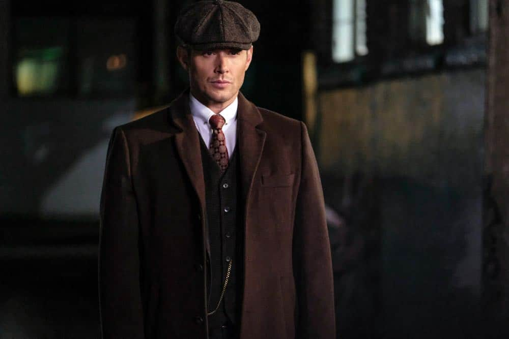 """Supernatural -- """"Stranger in a Strange Land"""" -- Image Number: SN1401a_0197b.jpg -- Pictured: Jensen Ackles as Dean/Michael -- Photo: Bettina Strauss/The CW -- © 2018 The CW Network, LLC All Rights Reserved"""