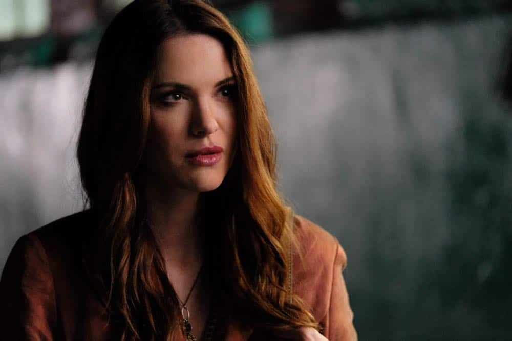 "Supernatural -- ""Stranger in a Strange Land"" -- Image Number: SN1401a_0265b.jpg -- Pictured: Danneel Ackles as Anael -- Photo: Bettina Strauss/The CW -- © 2018 The CW Network, LLC All Rights Reserved"
