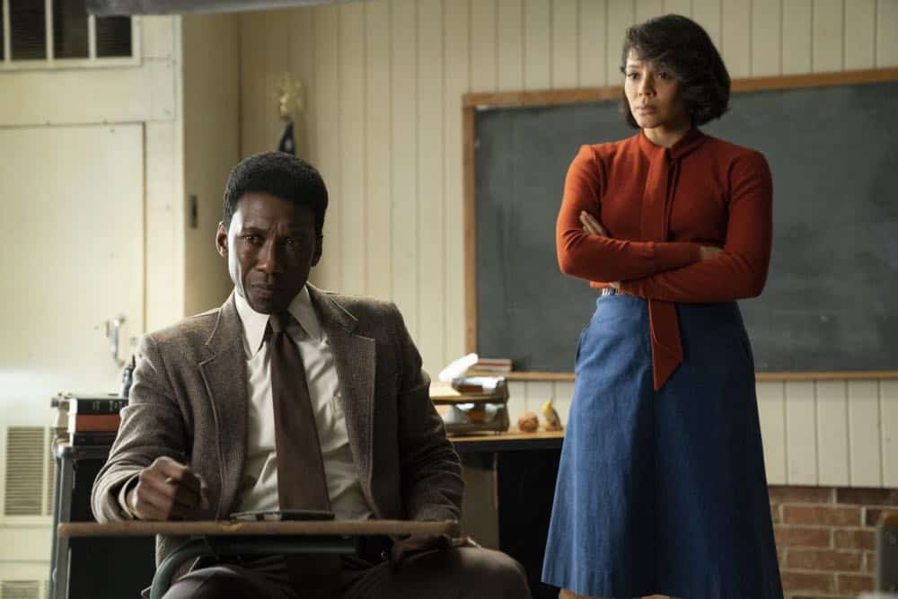 True Detective Season 3: Mahershala Ali, Carmen Ejogo.photo: Warrick Page