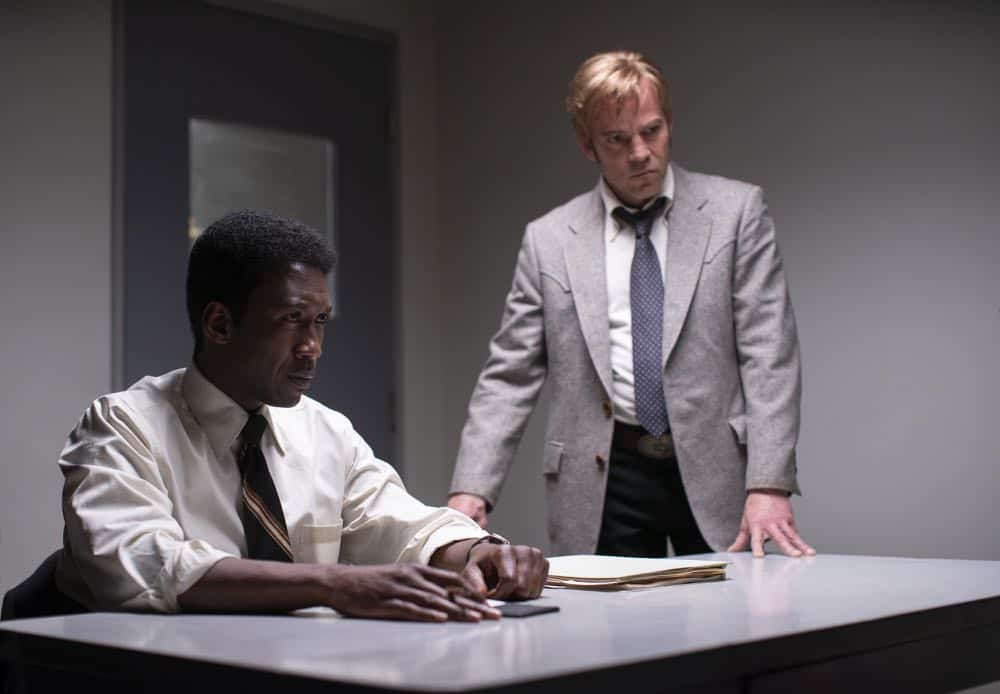 True Detective Season 3: Mahershala Ali, Stephen Dorff. photo: Warrick Page