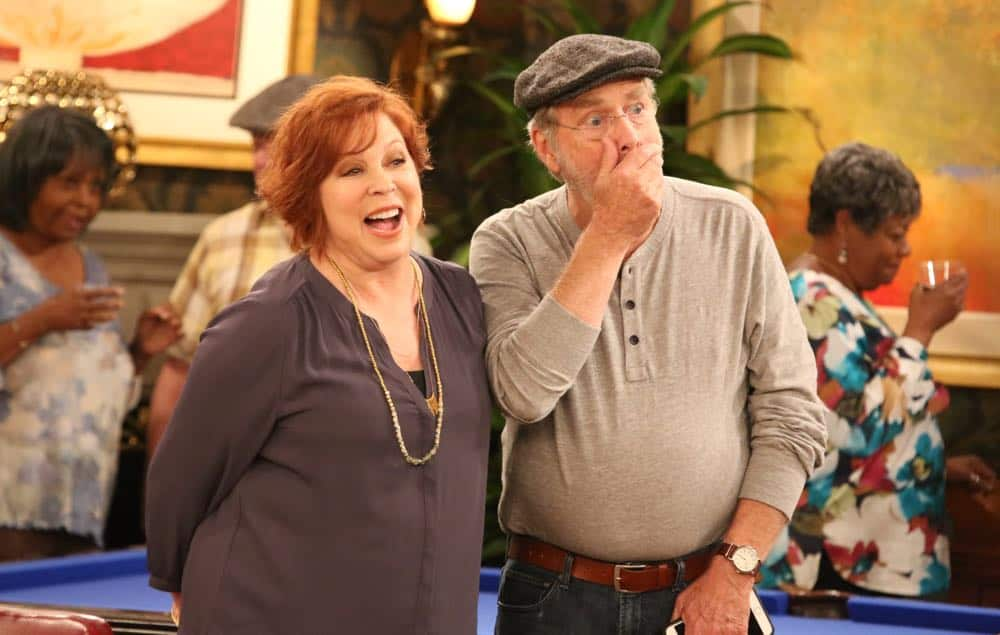 "THE COOL KIDS: L-R: Vicki Lawrence and Martin Mull in the ""A Date With Destiny"" episode of THE COOL KIDS airing Friday, Oct. 12 (8:30-9:00 PM ET/PT) on FOX. ©2018 Fox Broadcasting Co. Cr: Patrick McElhenney/FOX"