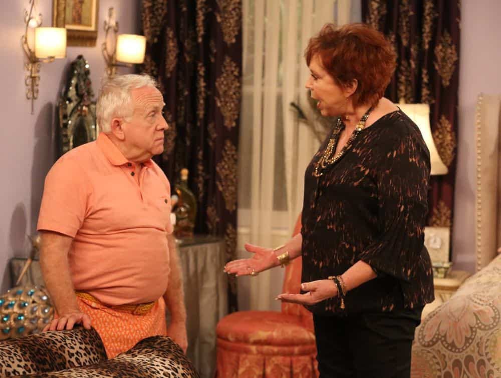 "THE COOL KIDS: L-R: Leslie Jordan and Vicki Lawrence in the ""A Date With Destiny"" episode of THE COOL KIDS airing Friday, Oct. 12 (8:30-9:00 PM ET/PT) on FOX. ©2018 Fox Broadcasting Co. Cr: Patrick McElhenney/FOX"