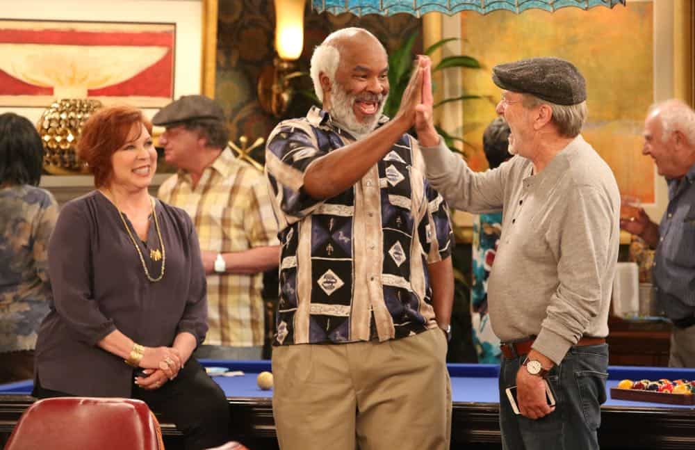 "THE COOL KIDS: L-R: Vicki Lawrence, David Alan Grier and Martin Mull in the ""A Date With Destiny"" episode of THE COOL KIDS airing Friday, Oct. 12 (8:30-9:00 PM ET/PT) on FOX. ©2018 Fox Broadcasting Co. Cr: Patrick McElhenney/FOX"