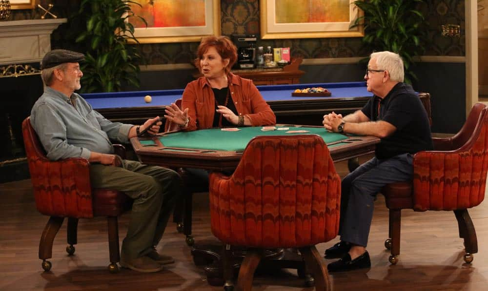 "THE COOL KIDS: L-R: Martin Mull, Vicki Lawrence and Leslie Jordan in the ""A Date With Destiny"" episode of THE COOL KIDS airing Friday, Oct. 12 (8:30-9:00 PM ET/PT) on FOX. ©2018 Fox Broadcasting Co. Cr: Patrick McElhenney/FOX"