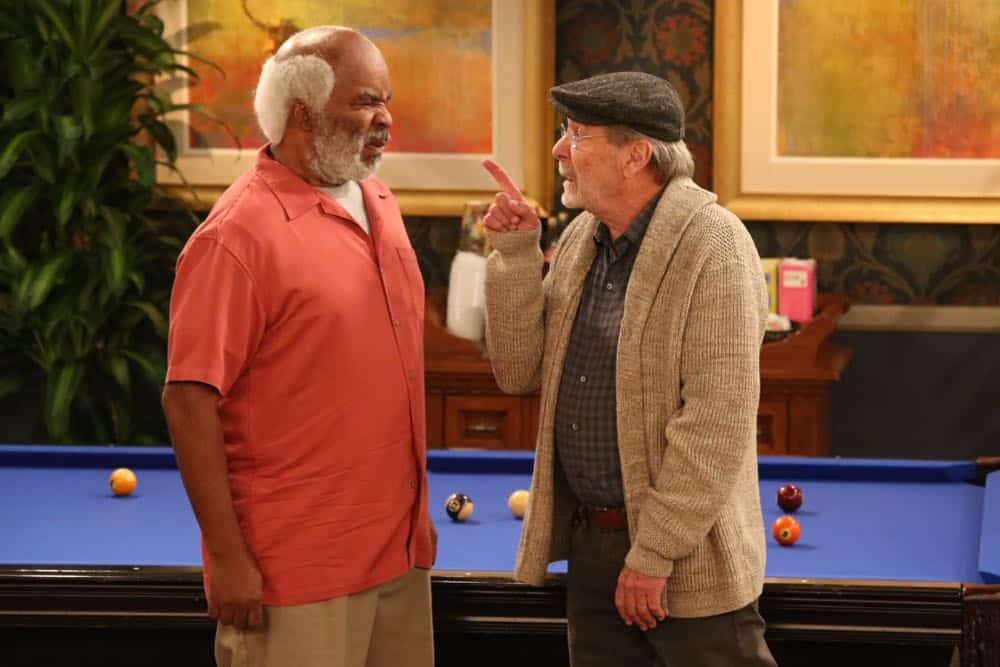 "THE COOL KIDS: L-R: David Alan Grier and Martin Mull in the ""A Date With Destiny"" episode of THE COOL KIDS airing Friday, Oct. 12 (8:30-9:00 PM ET/PT) on FOX. ©2018 Fox Broadcasting Co. Cr: Patrick McElhenney/FOX"