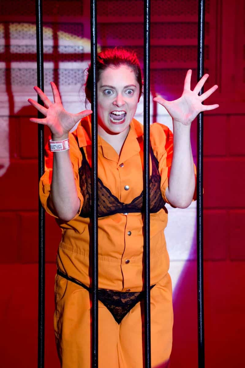 "Crazy Ex Girlfriend -- ""I Want To Be Here"" -- Image Number: CEG401c_0371.jpg -- Pictured: Rachel Bloom as Rebecca -- Photo: Robert Voets/The CW -- © 2018 The CW Network, LLC All Rights Reserved."