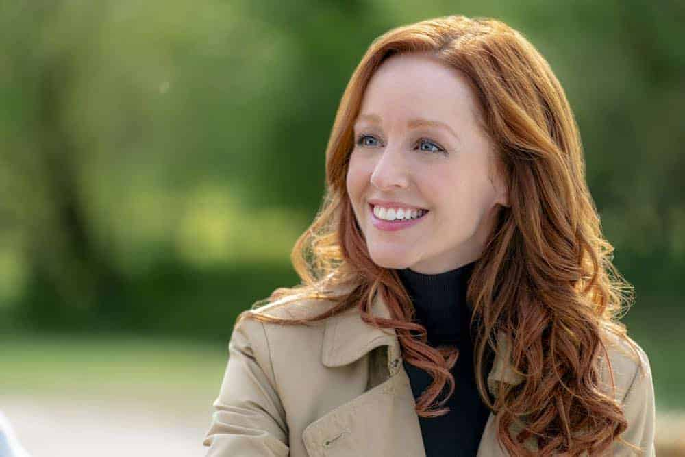 Lindy Booth Under the Autumn Moon