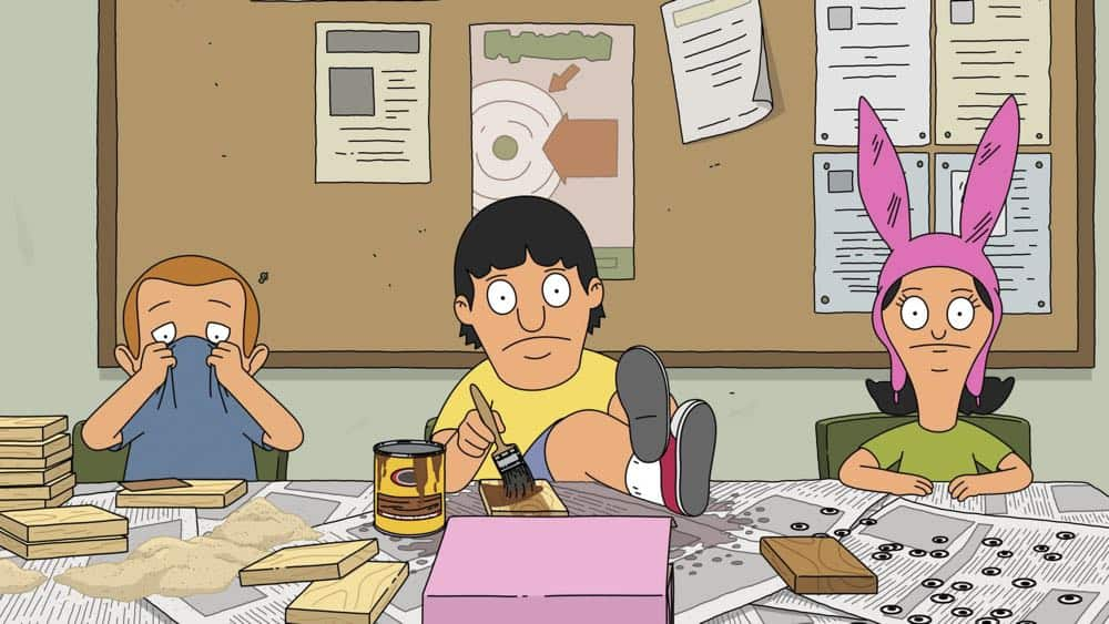 """BOB'S BURGERS: Tina, Louise and Gene get a taste of business when they join the school's Tweentrepeneurs club in the """"Tweentrepreneurs"""" episode of BOB'S BURGERS airing Sunday, Oct. 14 (8:30-9:00 PM ET/PT) on FOX. BOB'S BURGERS™ and © 2018 TCFFC ALL RIGHTS RESERVED. CR: FOX"""