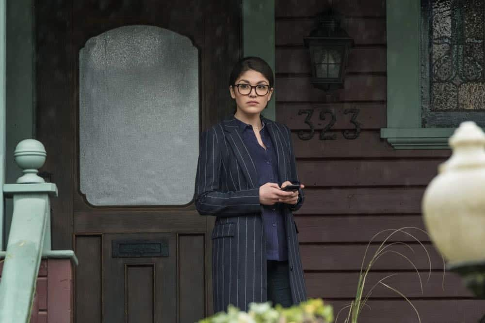 """Charmed -- """"Pilot""""-- Image Number: CMD101f_0184.jpg -- Pictured: Ellen Tamaki as Niko Hamada -- Photo: Katie Yu/The CW -- © 2018 The CW Network, LLC. All Rights Reserved."""