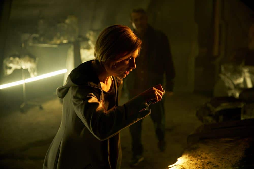 "Picture shows: The Doctor (JODIE WHITTAKER), Graham (BRADLEY WALSH). ""The Ghost Monument"" airs Sunday, October 14th at 8/7c on BBC AMERICA."