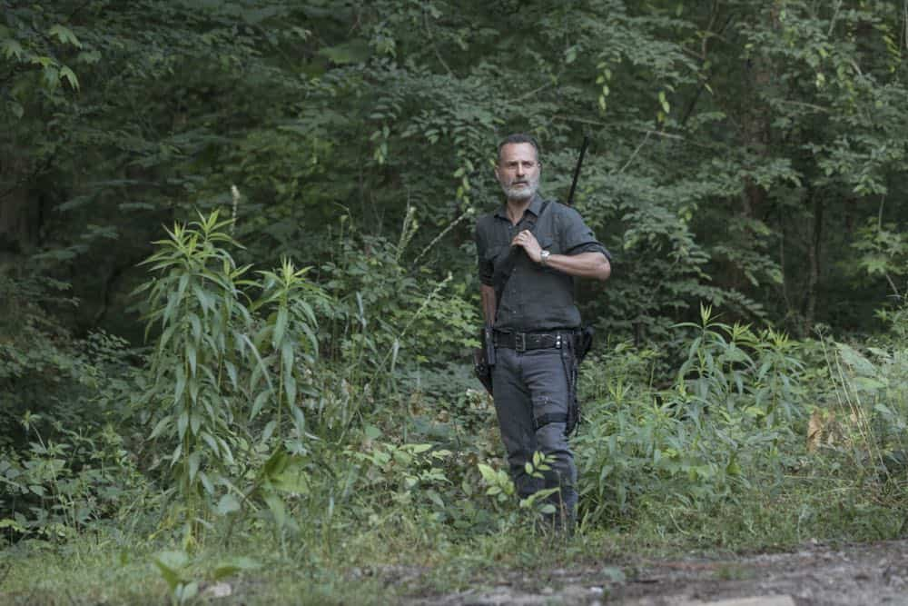 Andrew Lincoln as Rick Grimes - The Walking Dead _ Season 9, Episode 2 - Photo Credit: Jackson Lee Davis/AMC