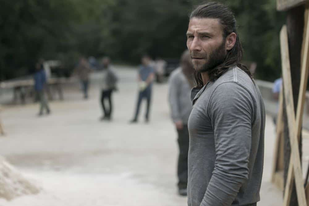 Zach McGowan as Justin - The Walking Dead _ Season 9, Episode 2 - Photo Credit: Jackson Lee Davis/AMC