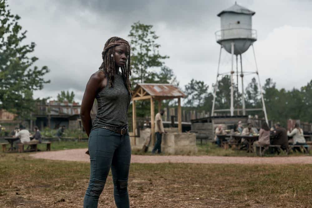 Danai Gurira as Michonne - The Walking Dead _ Season 9, Episode 2 - Photo Credit: Jackson Lee Davis/AMC
