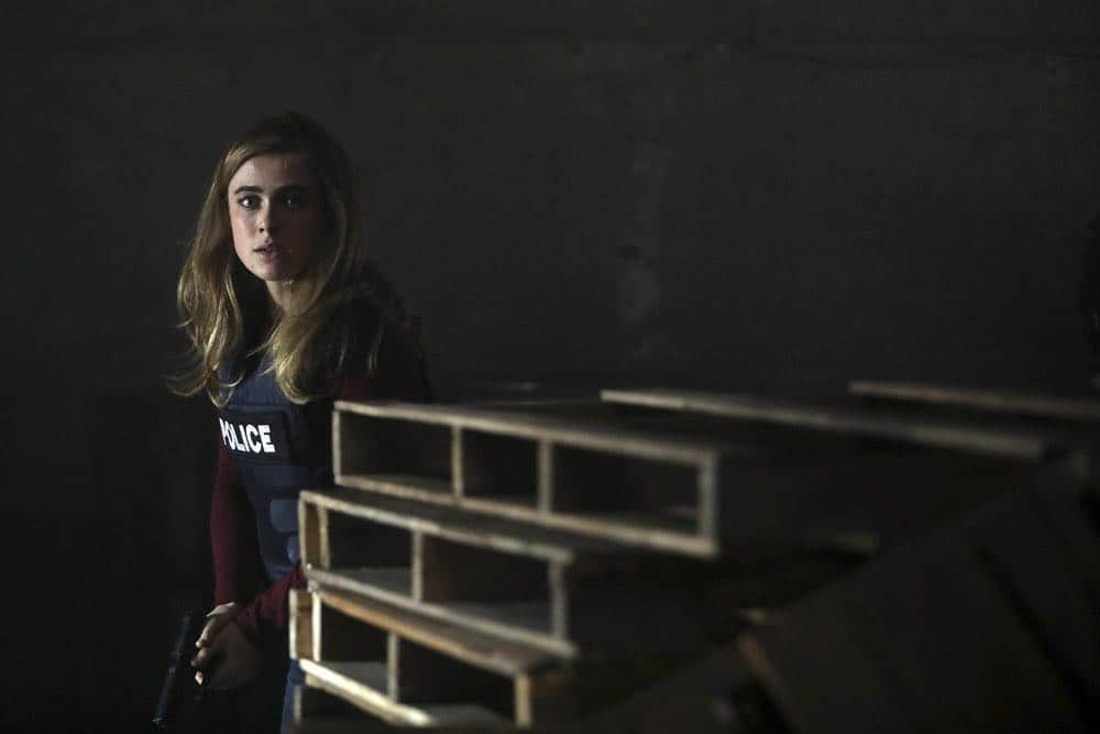 "MANIFEST -- ""Unclaimed Baggage"" Episode 104 -- Pictured: Melissa Roxburgh as Michaela Stone -- (Photo by: Craig Blankenhorn/NBC/Warner Brothers)"