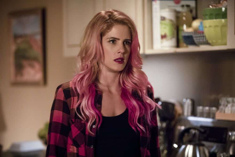 """Arrow -- """"Inmate #4587"""" -- Image Number: AR701A_0308b.jpg -- Pictured: Emily Bett Rickards as Felicity Smoak -- Photo: Jack Rowand/The CW -- © The CW Network, LLC. All rights reserved."""