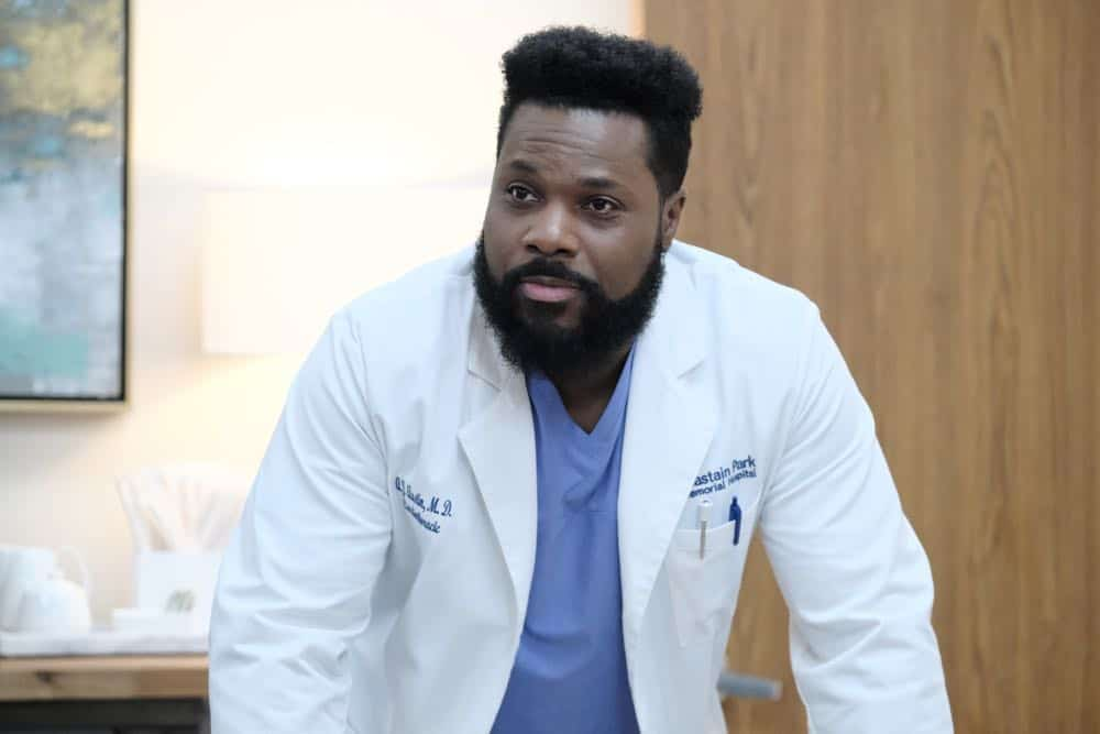 """THE RESIDENT: Malcolm Jamal Warner in the """"About Time"""" episode of THE RESIDENT airing Monday, Oct. 15 (8:00-9:00 PM ET/PT) on FOX. ©2018 Fox Broadcasting Co. Cr: Guy D'AlemaFOX."""