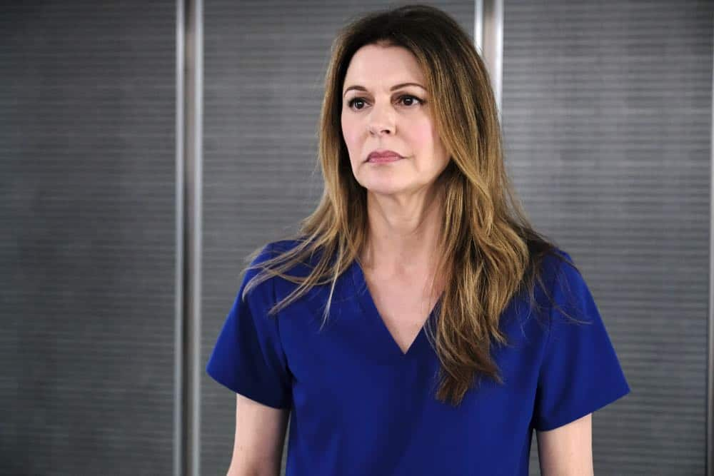 """THE RESIDENT: Jane Leeves in the """"About Time"""" episode of THE RESIDENT airing Monday, Oct. 15 (8:00-9:00 PM ET/PT) on FOX. ©2018 Fox Broadcasting Co. Cr: Guy D'AlemaFOX."""