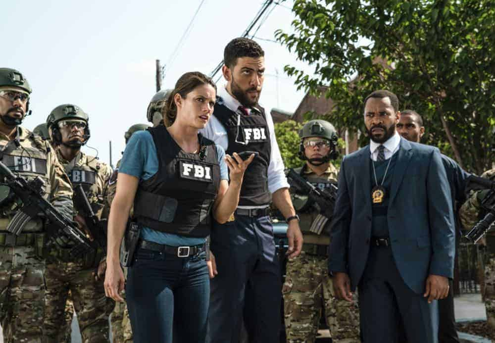 ÒCrossfireÓ Ð Special Agents Maggie Bell and OA Zidan rush to track down an active sniper with an elusive motive as the body count continues to rise, on FBI, Tuesday, Oct. 16 (9:00-10:00 PM, ET/PT) on the CBS Television Network. Pictured: Missy Peregrym, Zeeko Zaki. Photo: Michael Parmelee/CBS ©2018 CBS Broadcasting, Inc. All Rights Reserved