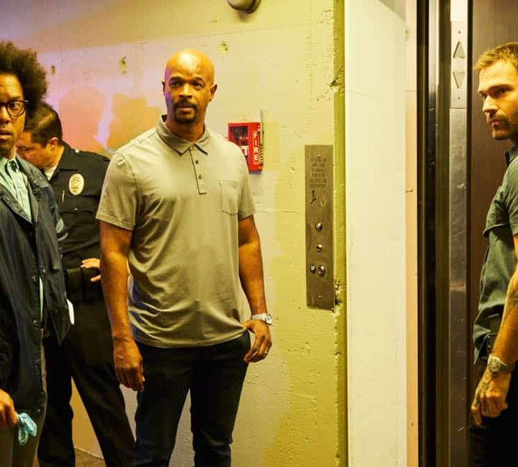 "LETHAL WEAPON: L-R: Johnathan Fernandez, Damon Wayans and Seann William Scott in the ""Leo Getz Justice"" episode of LETHAL WEAPON airing Tuesday, Oct. 16 (9:00-10:00 PM ET/PT) on FOX. ©2018 Fox Broadcasting Co. CR: John P Fleenor/FOX"