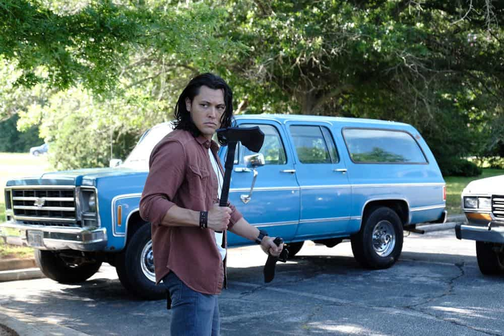 """THE GIFTED: Blair Redford in the """"outMatched"""" episode of THE GIFTED airing Tuesday, Oct. 16 (8:00-9:00 PM ET/PT) on FOX. ©2018 Fox Broadcasting Co. Cr: Guy D'Alema/FOX."""