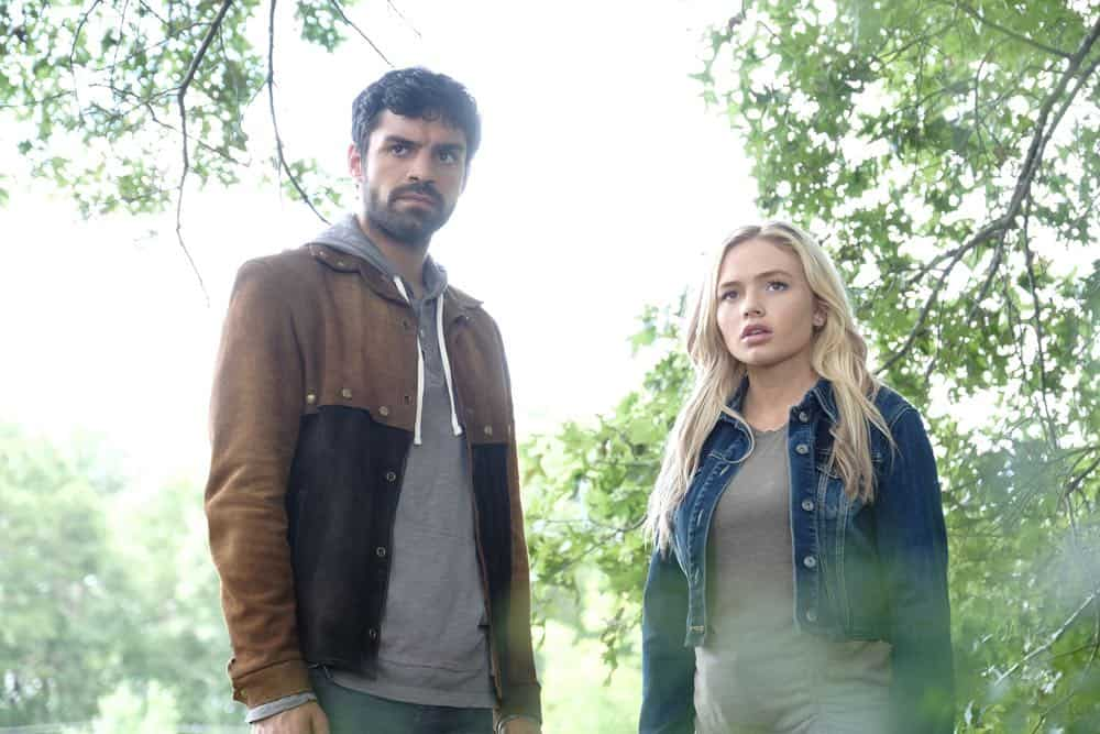 """THE GIFTED: L-R: Sean Teale and Natalie Alyn Lind in the """"outMatched"""" episode of THE GIFTED airing Tuesday, Oct. 16 (8:00-9:00 PM ET/PT) on FOX. ©2018 Fox Broadcasting Co. Cr: Guy D'Alema/FOX."""
