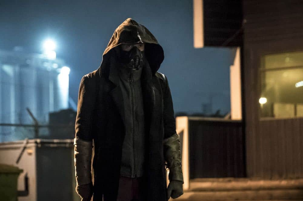 "The Flash -- ""Blocked"" -- Image Number: FLA502b_0315b.jpg -- Pictured: Chris Klein as Cicada  -- Photo: Katie Yu/The CW -- © 2018 The CW Network, LLC. All rights reserved"