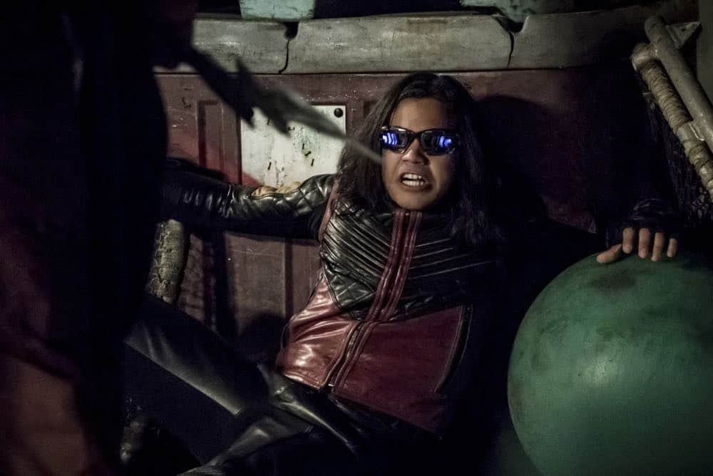"The Flash -- ""Blocked"" -- Image Number: FLA502b_0399b.jpg -- Pictured:  Carlos Valdes as Vibe -- Photo: Katie Yu/The CW -- © 2018 The CW Network, LLC. All rights reserved"