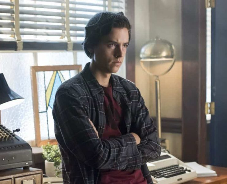 """Riverdale -- """"Chapter Thirty-Seven: Fortune and Men's Eyes"""" -- Image Number: RVD302a_0302.jpg -- Pictured: Cole Sprouse as Jughead -- Photo: Dean Buscher/The CW -- © 2018 The CW Network, LLC. All rights reserved."""